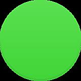 Верно! Зеленый круг