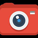 Фотоаппарат красный