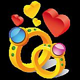 Кольца и сердца