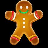 Новогодняя печенька