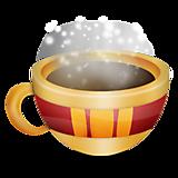 Кружка с горячим напитком