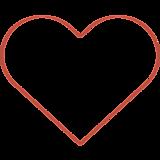 Сердце (контур)