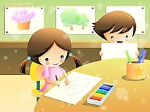 Дети рисуют
