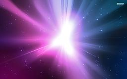 Фиолетовая вспышка